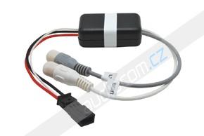 AUX vstup pro autorádia BMW se 17-pinovým konektorem