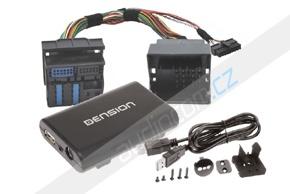 Gateway DENSION 300 iPOD/USB/AUX vstup VW / ŠKODA / SEAT (G33V21)