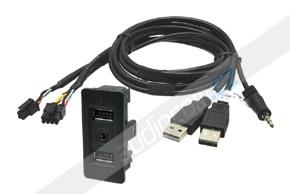 USB / AUX konektor VW Golf VII.
