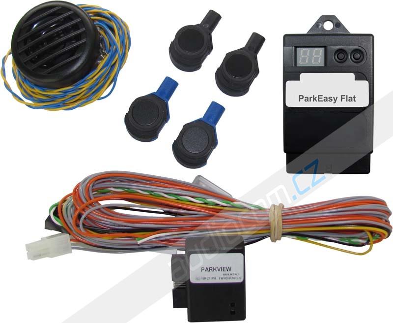 Originální zadní parkovací senzor se zobrazením na navigaci VW / Škoda / Seat / Ford / Fiat / Alfa Romeo / Peugeot