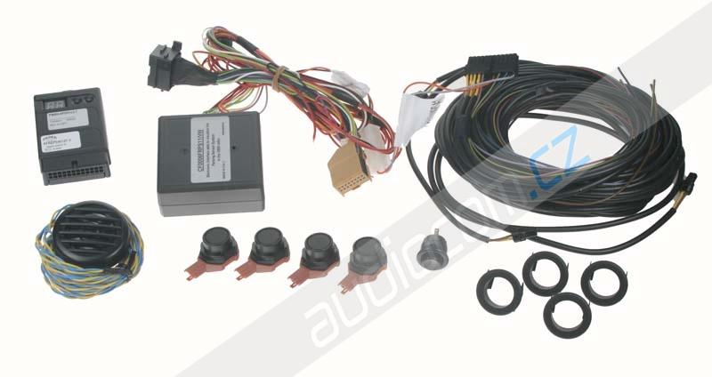 Originální přední parkovací senzor se zobrazením na navigaci VW / Škoda / Seat