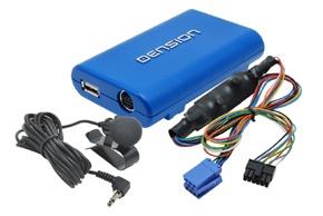 Gateway DENSION Lite3 BT HF sada + iPhone / iPod / USB vstup RENAULT (GB3RE8)