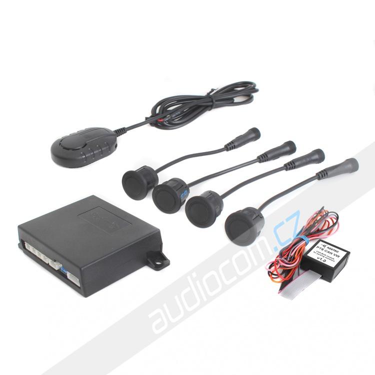 Parkovací senzory Steelmate s CAN modulem PTS410-VW