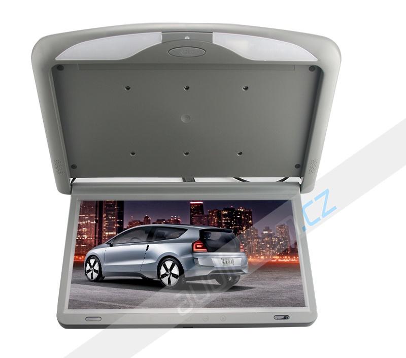 """Stropní LCD monitor 15,6"""" šedý HDMI NEW LED SLIM"""