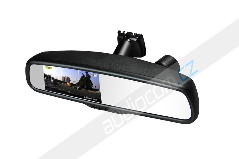 Monitor v zrcátku s DVR kamerou EV-043LA-1080p