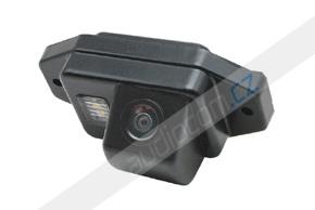 CCD parkovací kamera TOYOTA Land Cruiser 100 / 120 / 200 s rezervním kolem na 5-tých dveřích