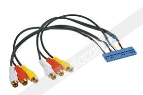 AV adaptér pro automobily VW / AUDI / ŠKODA / SEAT s TV tunerem