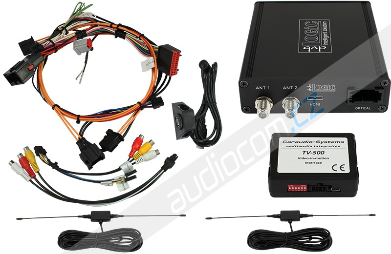 DVB-T tuner dvbLogic DT2-LR10 pro vozy LAND ROVER