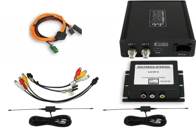 DVB-T tuner pro vozy VW Touareg 7P s RNS 850