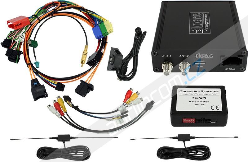 DVB-T tuner dvbLogic DT1-PCM21 pro vozy PORSCHE Cayenne