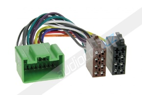 ISO adaptér pro VOLVO C30 / C70 / S80 / S40 / V50 / V70 / XC 70 - 16 pinů High Performance
