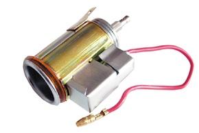 CL zásuvka přístrojová s osvětlením