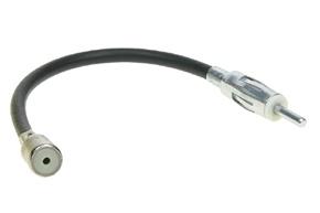 Anténní adaptér ISO - DIN s kabelem 20 cm
