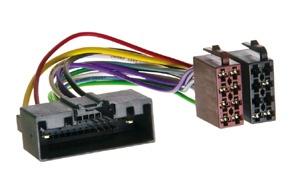 ISO adaptér pro FORD (10->) / LAND ROVER (11->) / MAZDA BT50 (12->) + OPEL Meriva B (10->)