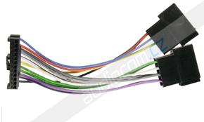 ISO konektory k autorádiu PIONEER řady KEH