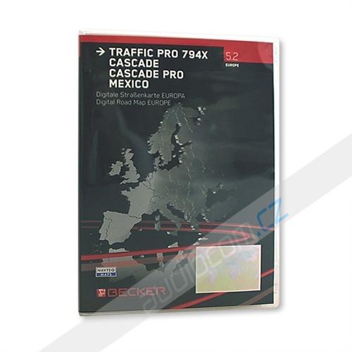 Navigační software Navteq T1000-17614 - EVROPA - Traffic Pro V 5.2 pro BECKER