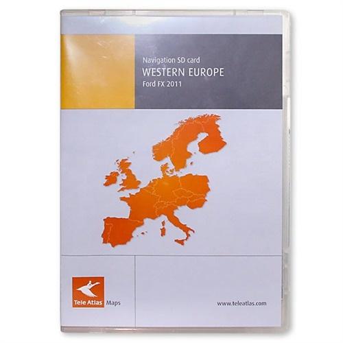Navigační SD karta Ford MCA 2011 Evropa + Turecko - dotykový display