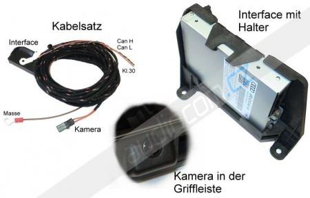 Zadní parkovací kamera Audi Q7 4L MMI 2G (APS ADVANCE)