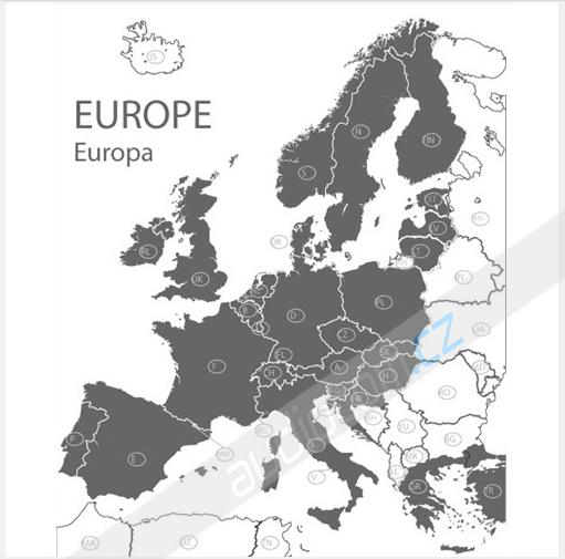 Navigační SD karta Ford Travelpilot FX 2016 Evropa