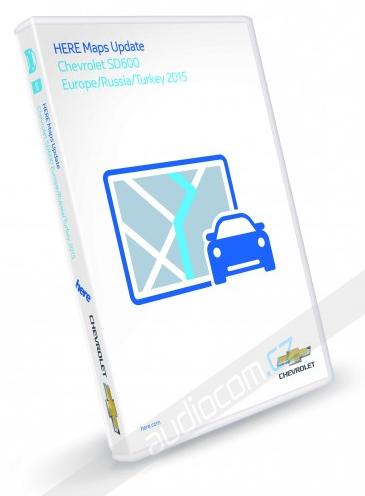 Navigační SD karta CHEVROLET Navi 600 / Navi 900 - Evropa 2015