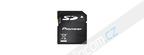 Navigační SD karta 2015 PIONEER AVIC-F930BT / F30BT / F40BT / F940BT / F840BT / F8430BT