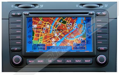 Navigační CD-ROM DX - mapa Francie 2013-2014 + Hlavní trasy Evropy (MRE 2013/2014)