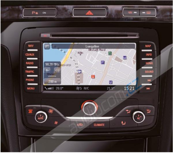Navigační SD karta FORD MCA 2016 Evropa