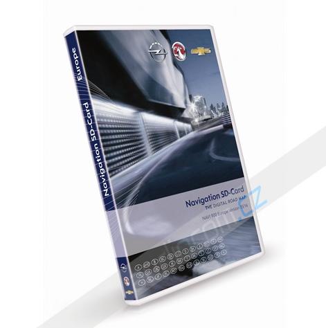 Navigační SD karta OPEL Navi 600 / Navi 900 - Evropa 2015/2016