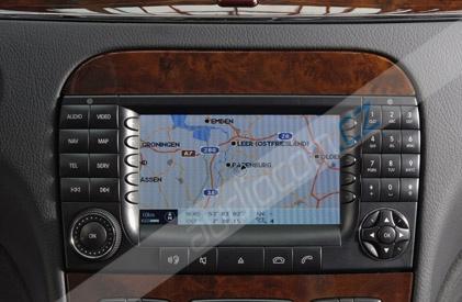 Navigační DVD-ROM COMAND APS NTG1 - mapa Evropy 2014/2015