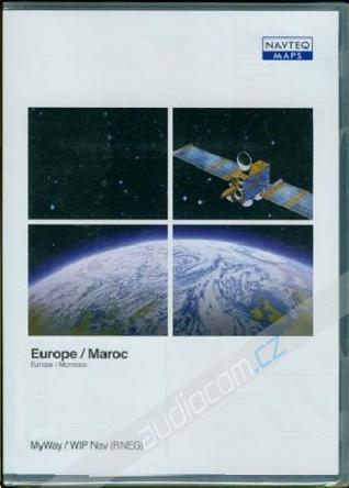 Navigační SD karta Peugeot / Citroen WIP Nav (RNEG) / MyWay - Evropa 2015
