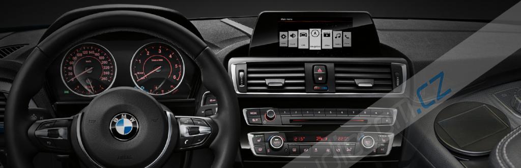Navigační modul BMW X3 [F25] s OEM AUX vstupem