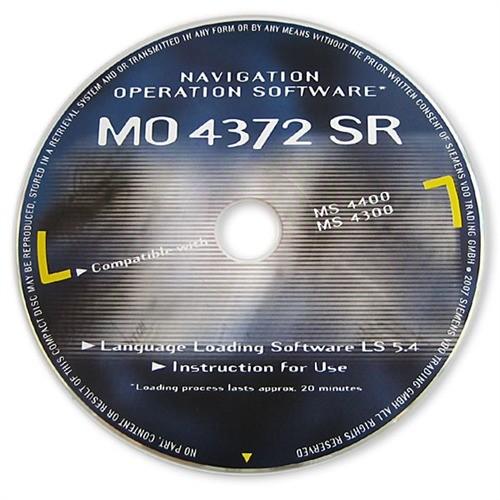 Operační software VDO-Dayton MO 4372 SR pro MS 4400 / 4300 C-IQ