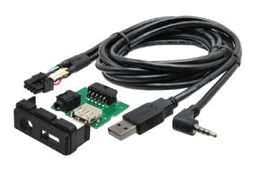 USB+JACK konektor MAZDA 2 / 3 / 5 / 6 / CX-5 / CX-7