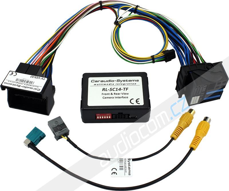 Adaptér pro připojení parkovací kamery k navigaci VOLVO Sensus Connect