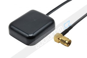 GPS Anténa konektor SMA - úhlový