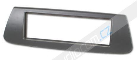 Rámeček autorádia RENAULT SCENIC III - tmavě šedý