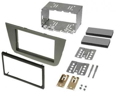 Instalační sada 2DIN autorádia SEAT Toledo (04-09) / Altea / Altea XL - antracit