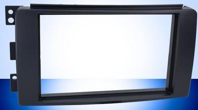 Rámeček autorádia 2DIN SMART FORTWO - černý