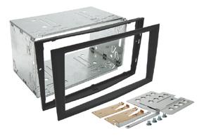 Instalační sada 2DIN OPEL Astra H (04-10) - černá matná