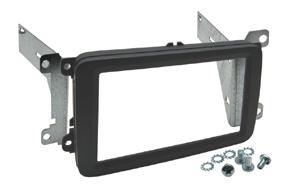 Instalační sada 2DIN VW / ŠKODA / SEAT - černá matná