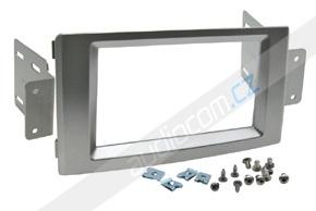 Instalační sada 2DIN rádia IVECO Daily (06 ->) - stříbrná