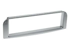 Rámeček autorádia ALFA ROMEO 147, GT - stříbrná
