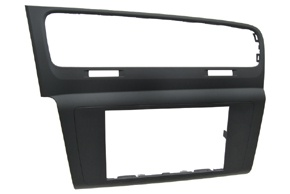 2DIN rámeček autorádia VW Golf VII. - plochý