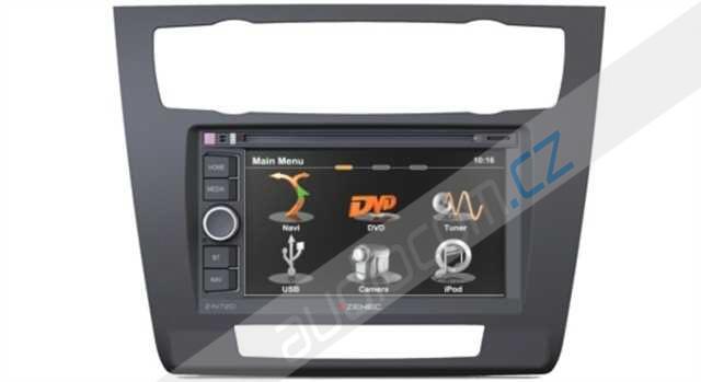 Navigace ZENEC Z-N720 BMW 1 s automatickou klimatizací