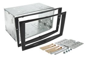 Instalační sada 2DIN OPEL Astra / Corsa D / Zafira B - černá lesklá