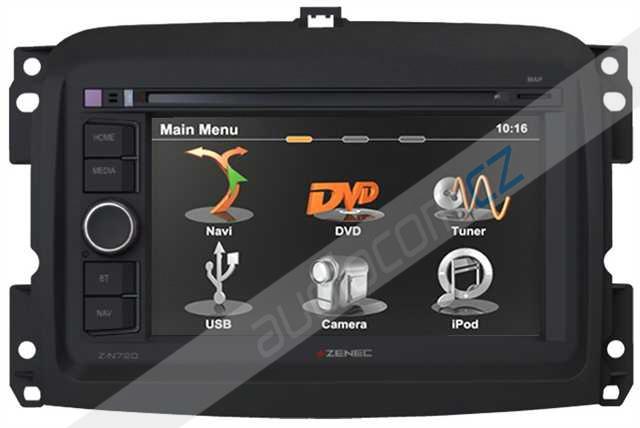 Navigace ZENEC Z-N720 FIAT 500L