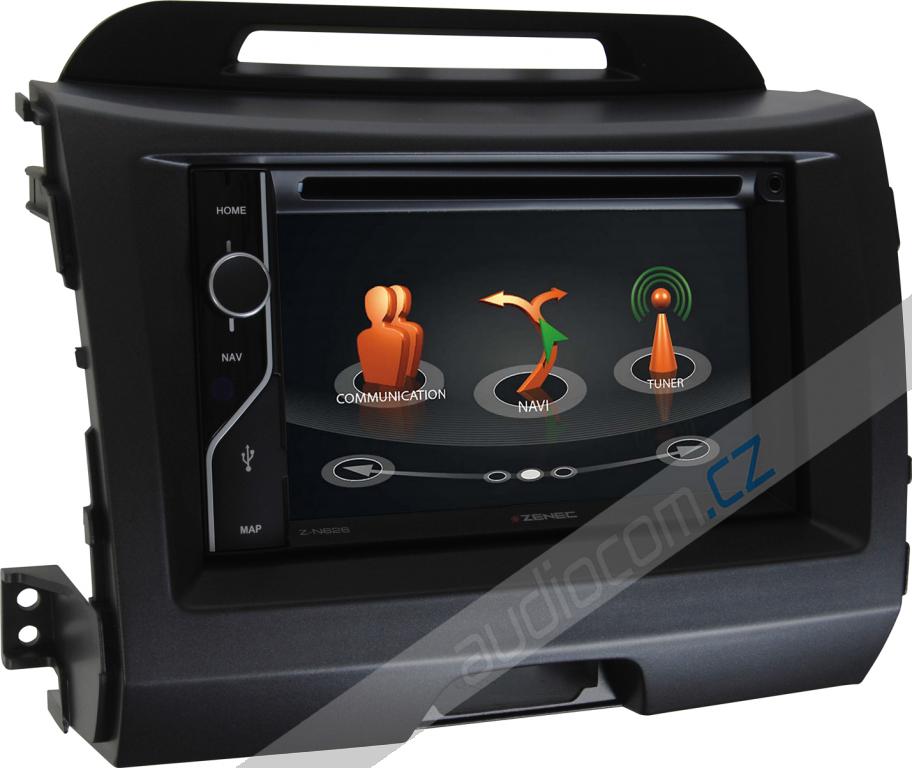 Navigace ZENEC Z-N626 KIA Sportage III. (2010->)