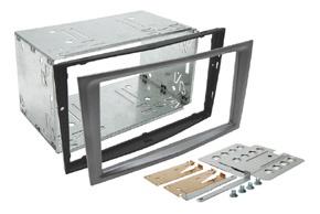 Instalační sada 2DIN OPEL Astra H / Zafira B / Antara - tmavě šedá