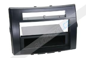 Rámeček 1DIN autorádia TOYOTA Corolla Verso (04-09) - černý