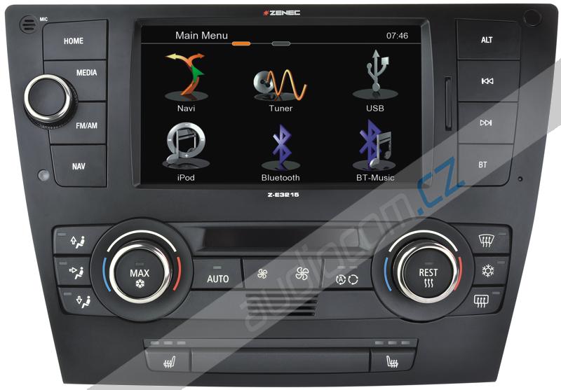 Navigace ZENEC Z-E3215 BMW 3 (2005-2011)